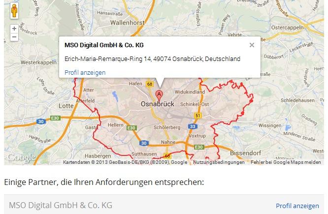 Google Partner im Raum Osnabrück