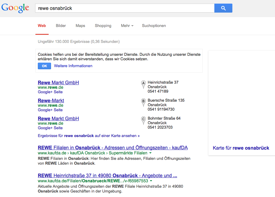 Brand-bidding Google AdWords