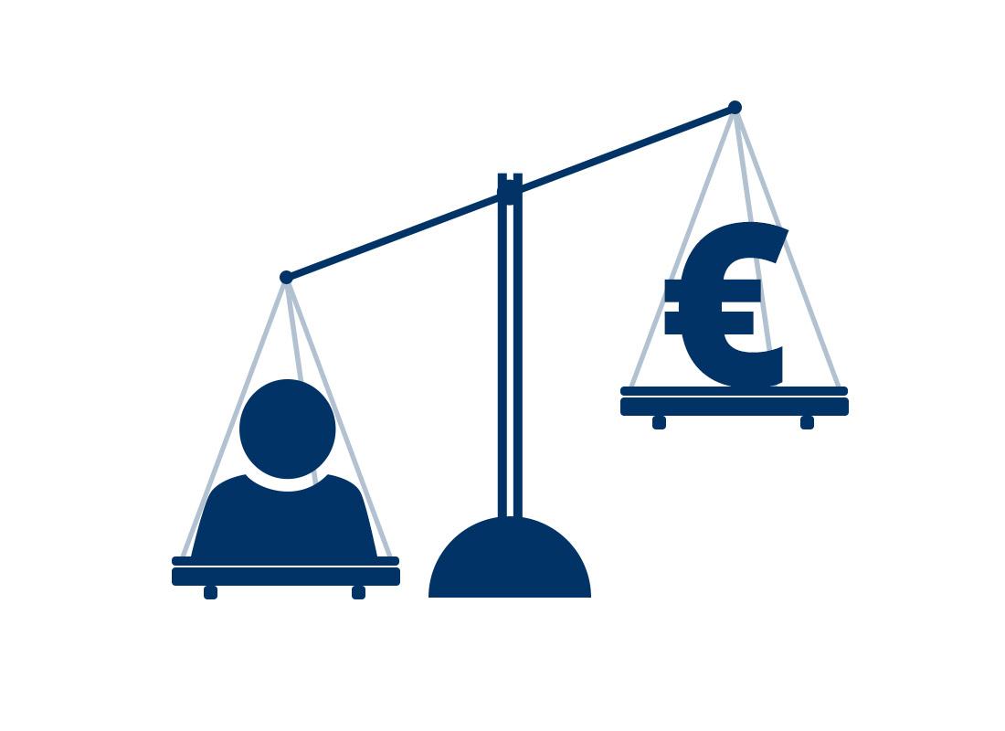 Abwägung des Wertes eines Neukunden im Online Marketing für KMU