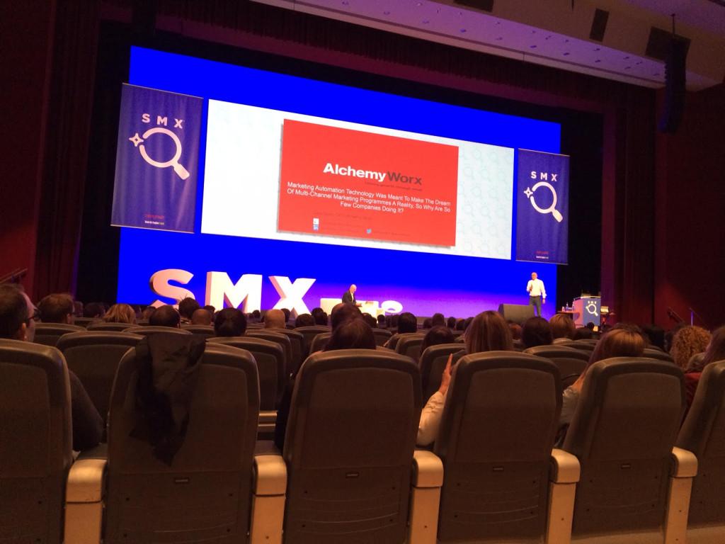 Dela Quist auf der SMX München 2016