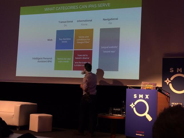 Tom Anthony über den Aufstieg von Personal Assistant Apps auf der SMX München 2016
