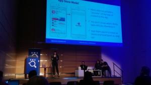Emily Grossman auf der SMX München über das App Store Model