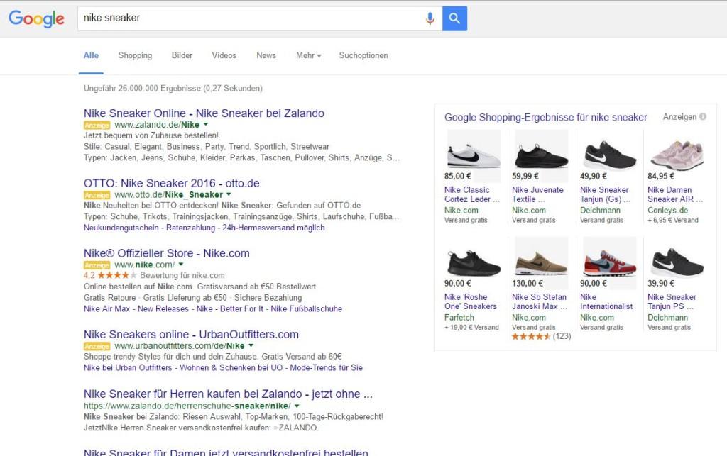 SERP Nike Sneaker