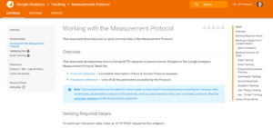 Measurement Protocol