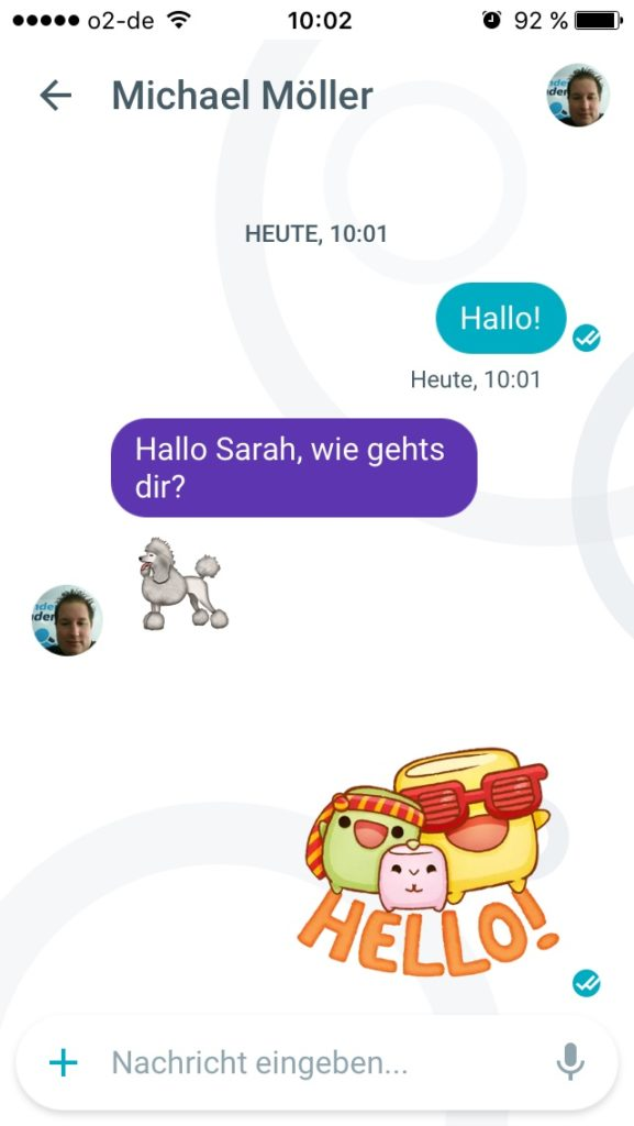 google-allo-chat
