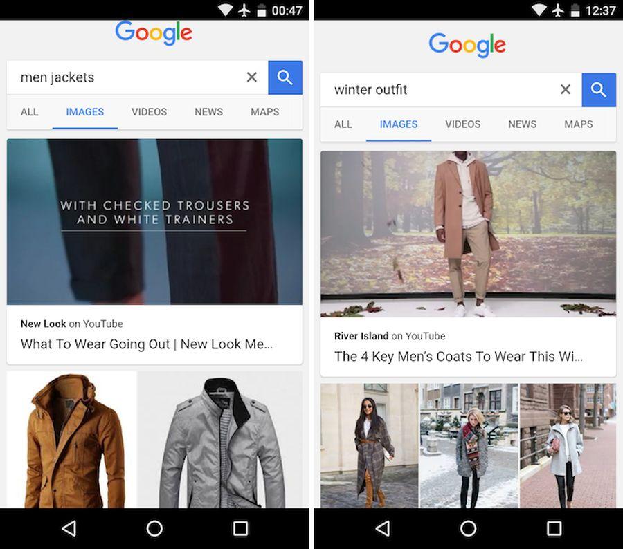 YouTube-Videos als Dauerschleife über den Google Suchergebnissen