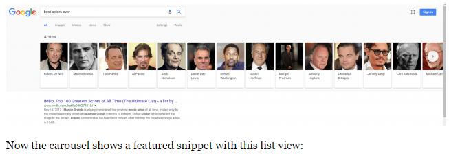 Carousels Google1
