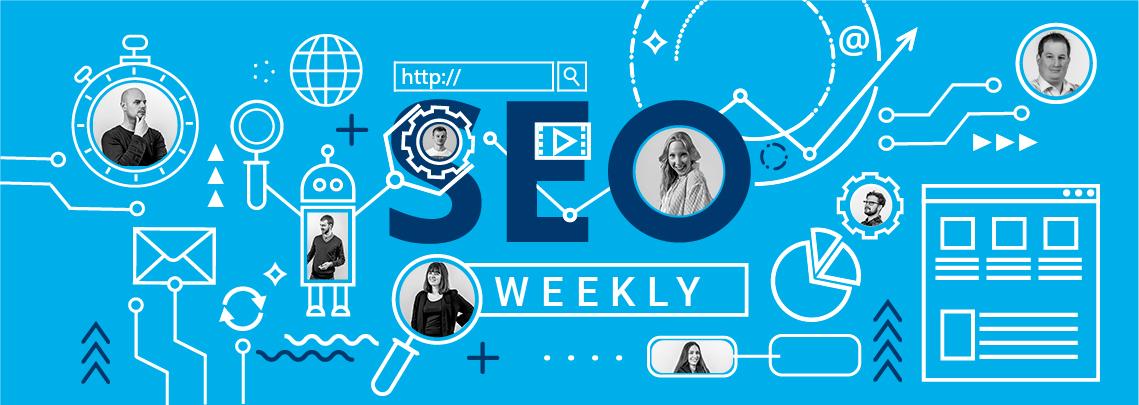 seo weekly hellblau