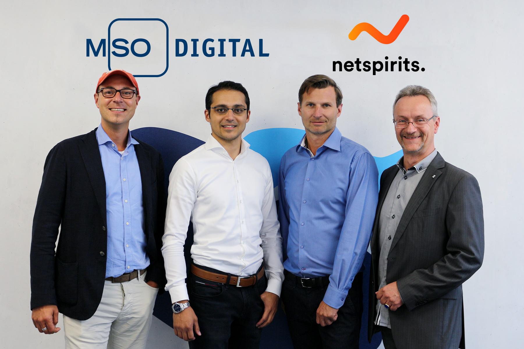 MSO Digital mit Mehrheitsbeteiligung an netspirits weiter auf Wachstumskurs