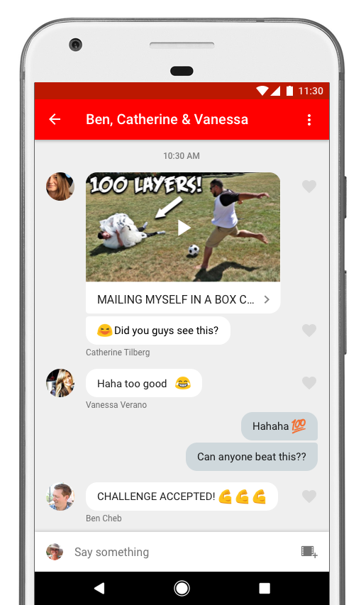 Youtube-Messenger