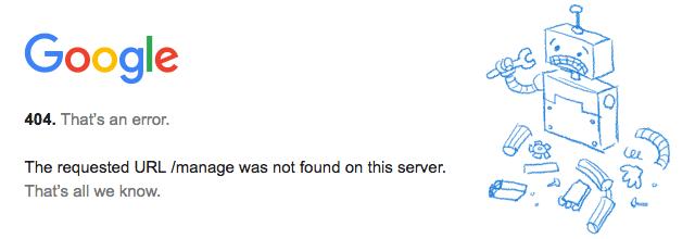 google my business login broken