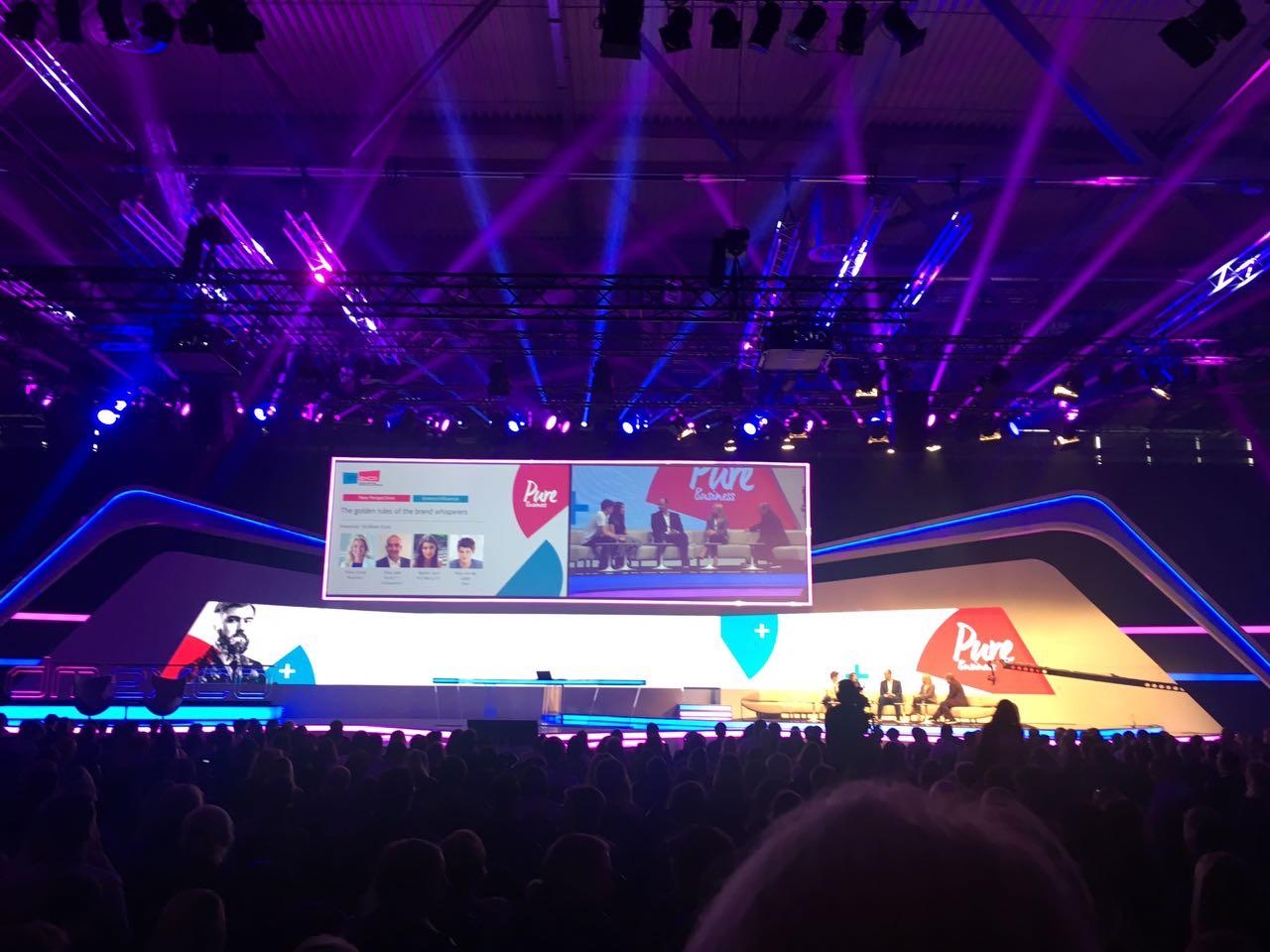 Influencer als Markenflüsterer: Vortrag auf der Dmexco 2017