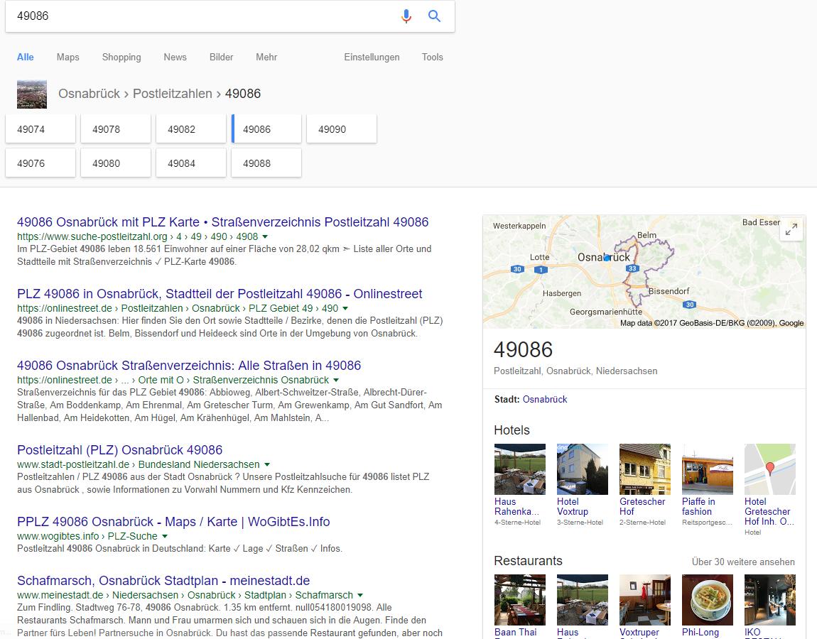 postleitzahlsuche google1