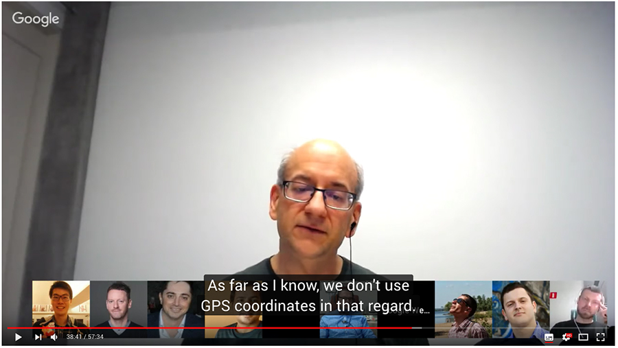 Google über GPS Koordinaten für die lokale SEO
