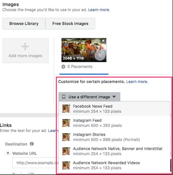facebook-individuelle-anzeigen-je-platzierung
