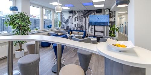 Blick in die Lounge der Social-Media-Agentur MSO Digital