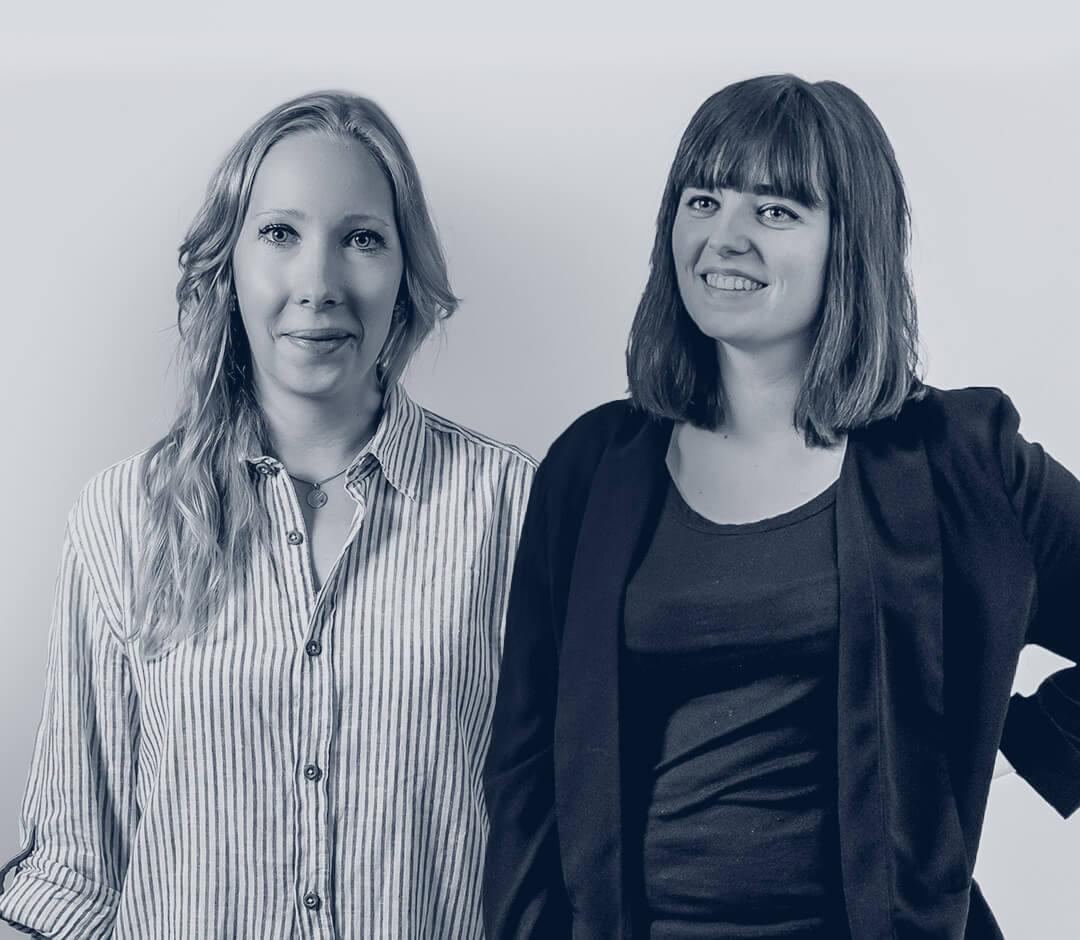 Webinare - Anna und Sarah