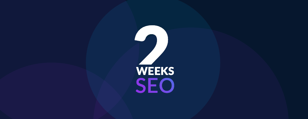 Two Weeks SEO - Header-Grafik