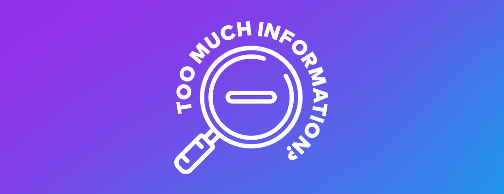 Too much information - DIVE 6