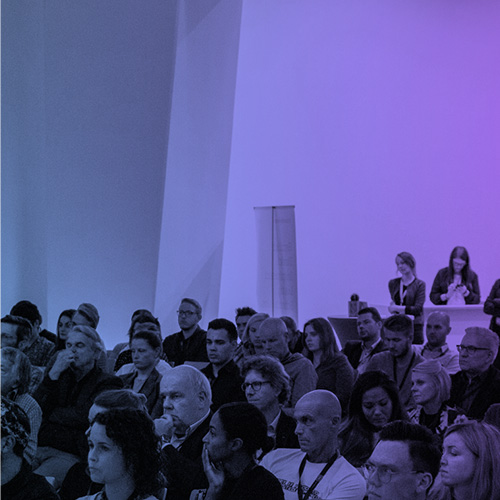 Digital Konferenz Publikum