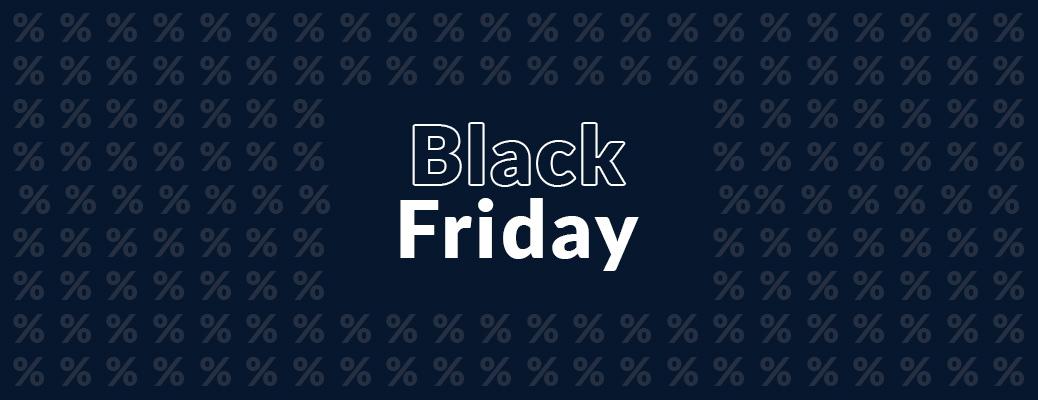 Black Friday - Header Grafik