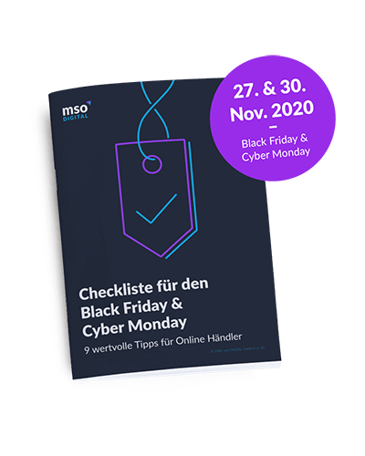 Checkliste Black Friday 2020 - Popup