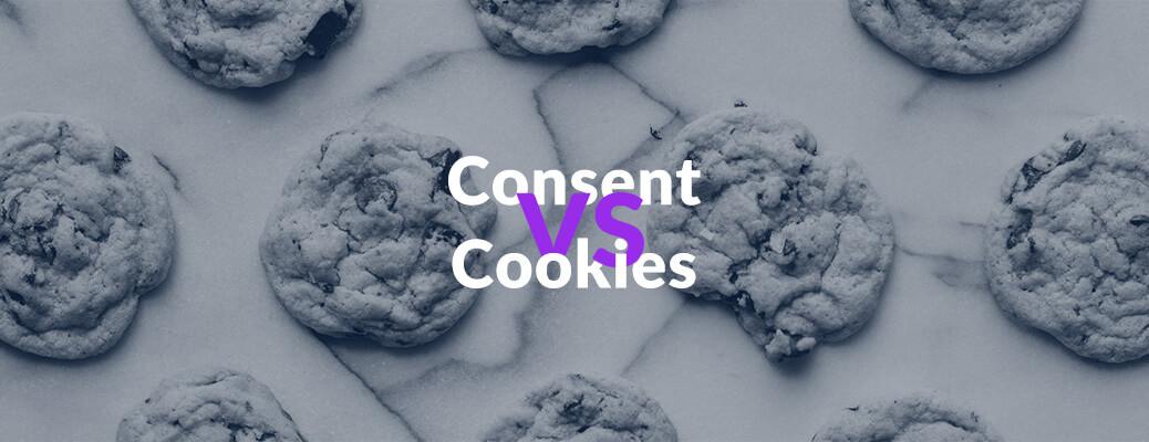 Consent vs. Cookies - Header Grafik