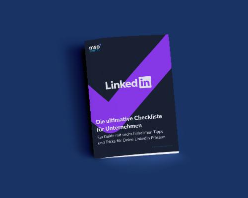 LinkedIn Checkliste für Unternehmen