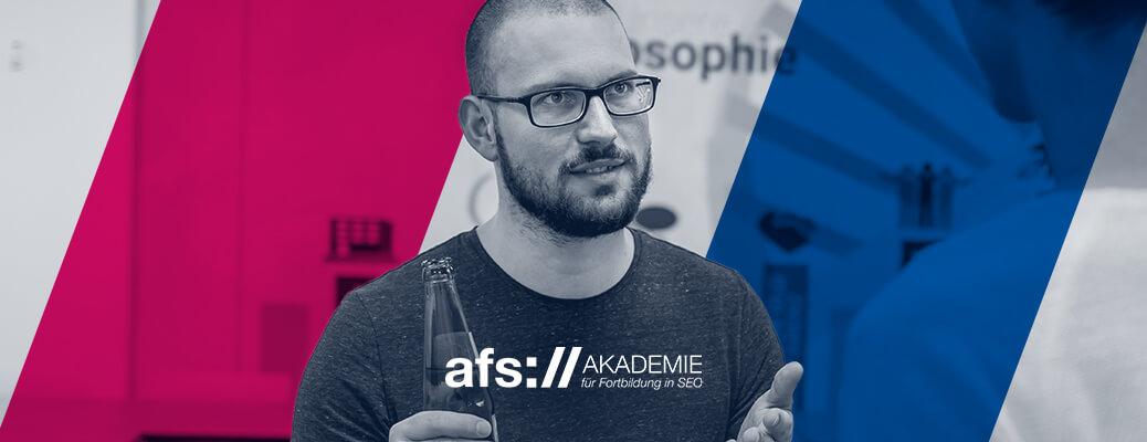 afs-Akademie - Jan Schmid wird Dozent - Header-Grafik