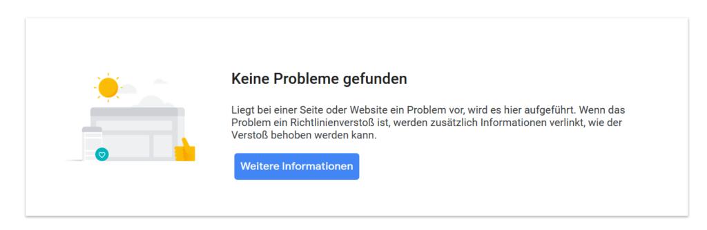 Google Richtlinien für Publisher –Grafik Verstöße
