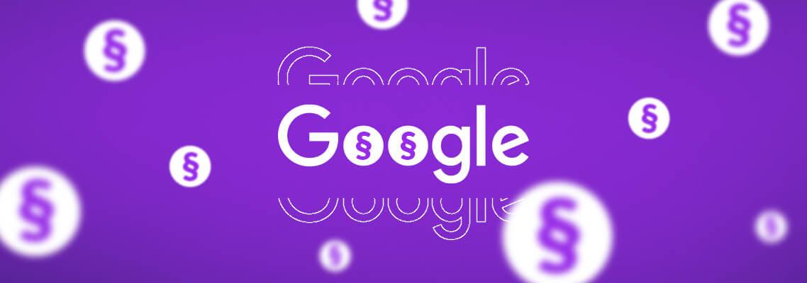 Google Richtlinien für Publisher –Header Grafik
