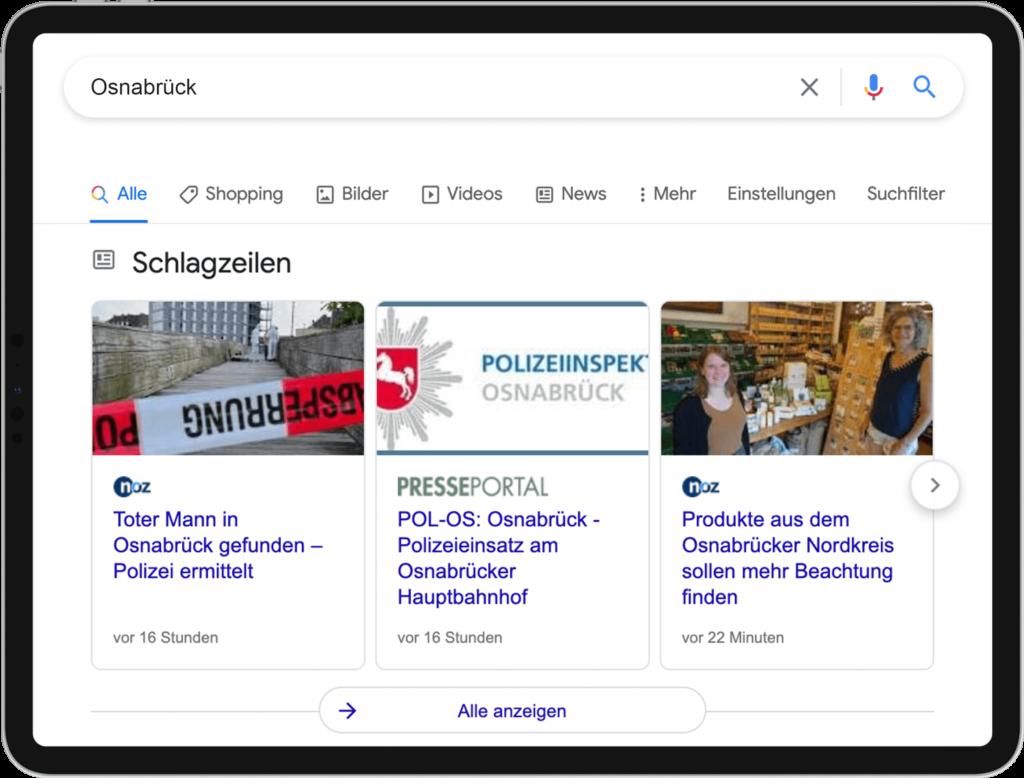 2.2 Bild News Universal Search