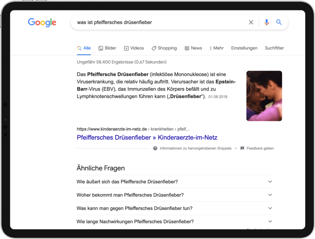 Featured Snippets - Texte