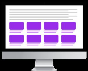 Google Multiplex Ads – Desktop unterhalb des Artikels