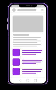 Google Multiplex Ads – Mobile unterhalb des Artikels
