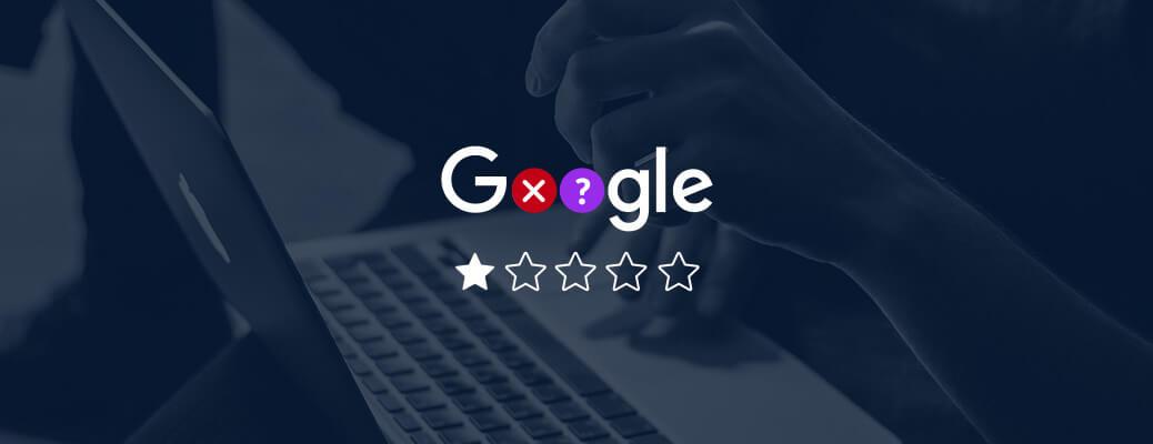 Google Bewertungen löschen - Header Grafik
